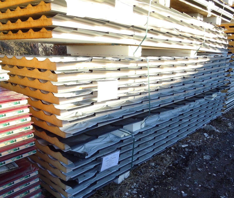 5 Stück Dachziegel Design 40mm PIR isoliert
