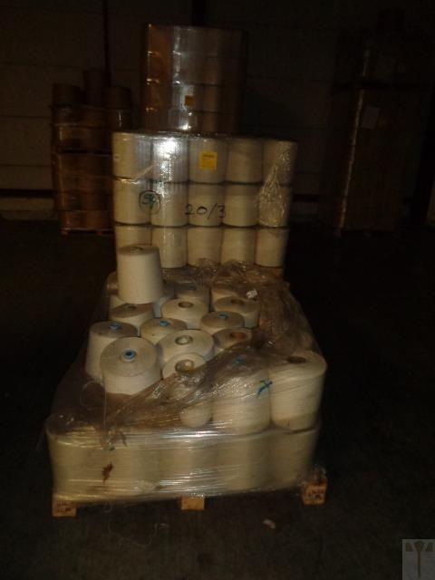4650 kg Schussgarn pes / co