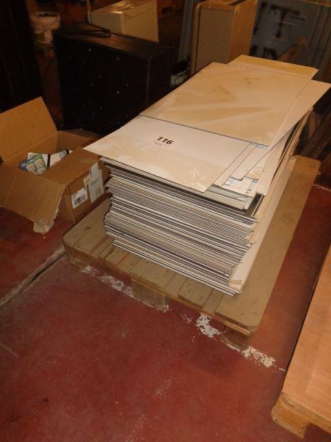 50 Plastikplatten