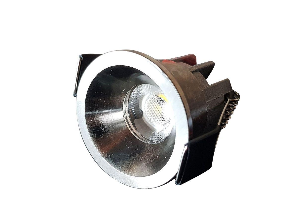 50 x 3W dimmbare LED-Einbaustrahler 3000K