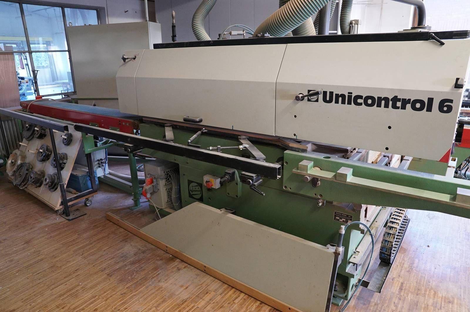 Winkelanlage für Fensterproduktion WEINIG UNICONTROL 6P