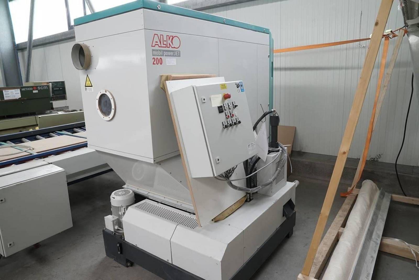 Filteranlage mit Brikettpresse AL-KO MOBIL POWER JET 200 + AL-KO APC 30 S AL-KO MOBIL POWER JET 200