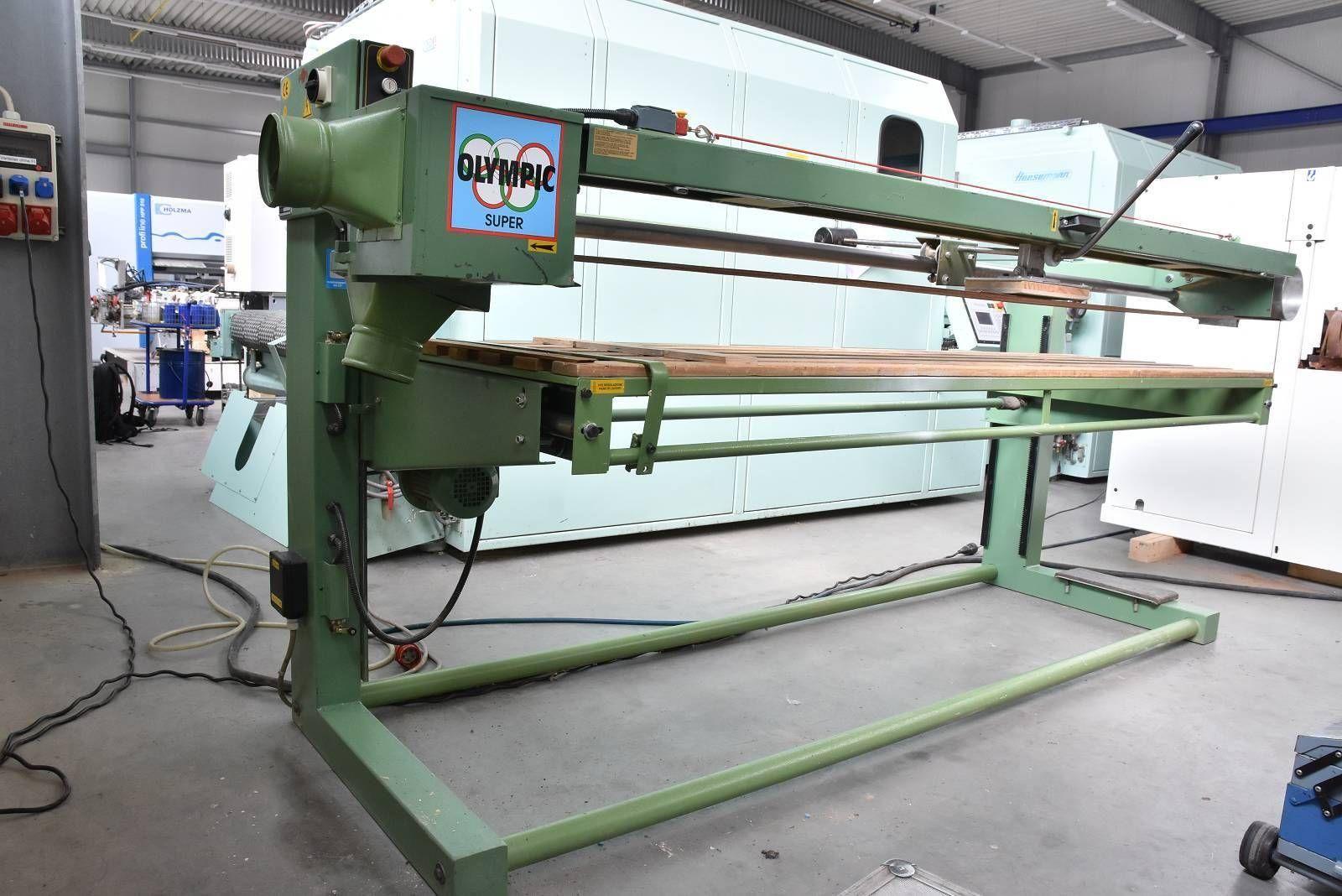 Langbandschleifmaschine MABO OLYMPIC SUPER