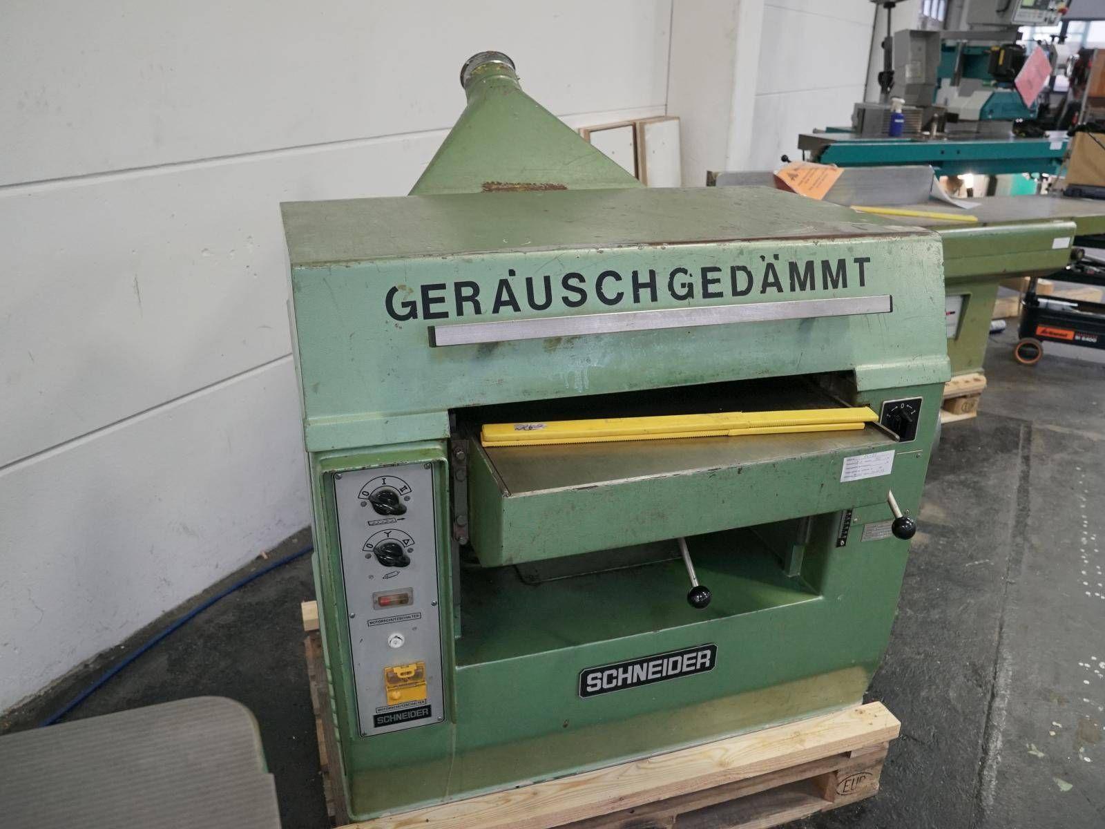 Dickenhobelmaschine SCHNEIDER DH 6
