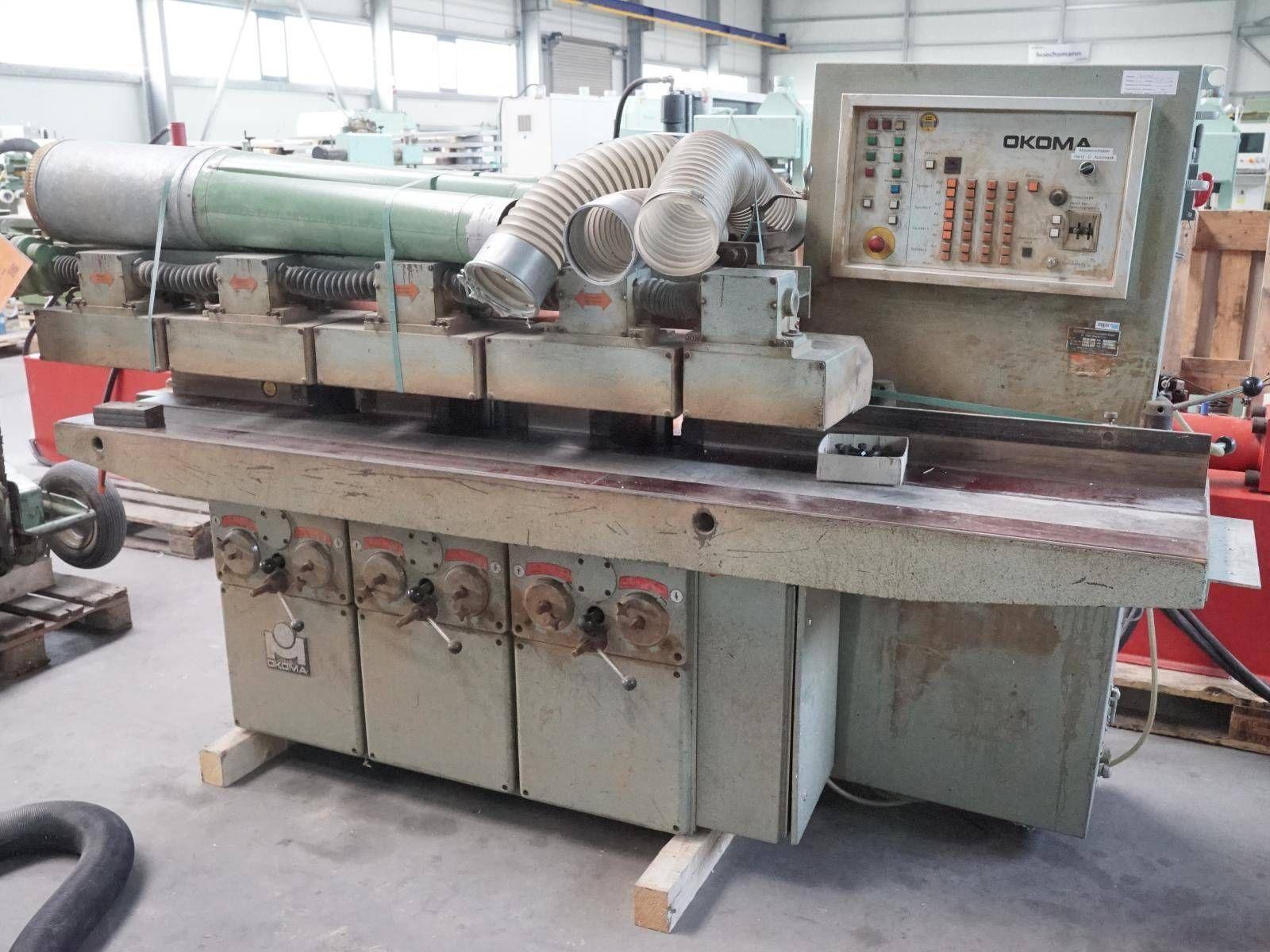 Umfälz- und Profiliermaschine OKOMA UF 3