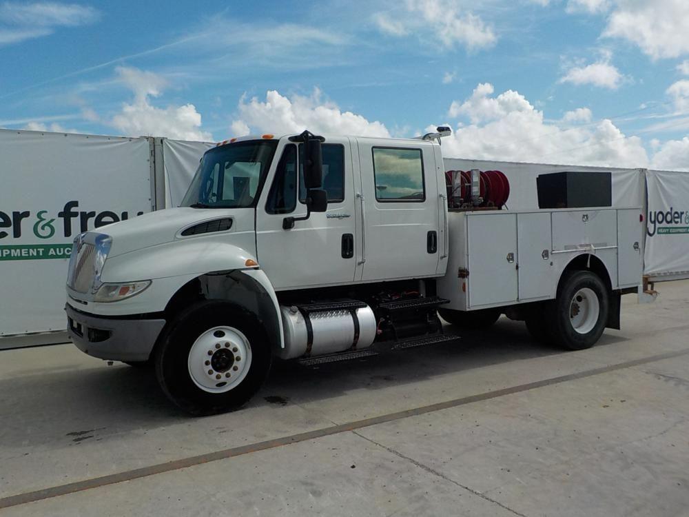 2013 Internationaler Crew Cab Service Truck von Allison Auto Trans (134.701 Meilen)