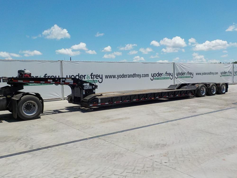 2008 Load King 50 Tonnen Tieflader mit Honda GX390 Motor