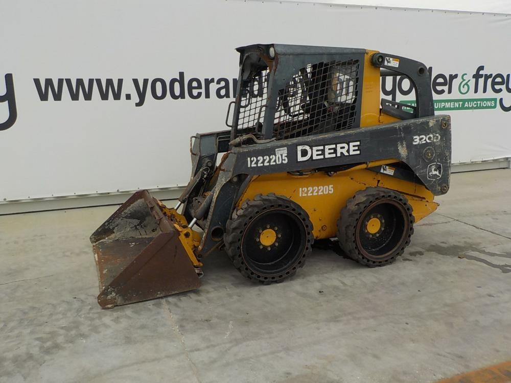 2011 320 John Deere