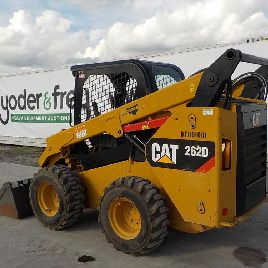 2014 CAT 262D Skidsteer Loader, OROPS c/w Joystick Controls, Aux Hyd, Bucket - CAT0262DVDTB01001