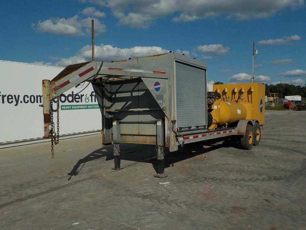2010 Sage Oil Vac Gooseneck Fuel Lube Trailer